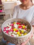 Festival de Songkarn en Tailandia Foto de archivo