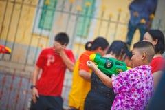 Festival de Songkran foto de archivo