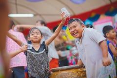 Festival de Songkran imágenes de archivo libres de regalías