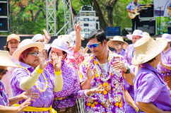 Festival 2015 de Songkran Imagem de Stock Royalty Free
