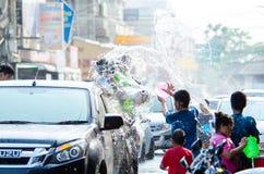 Festival 2015 de Songkran Fotografia de Stock Royalty Free