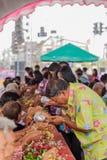 Festival de Songkran Photos libres de droits