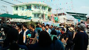 Festival de Songkran Fotos de archivo