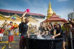 Festival de Songkran foto de archivo libre de regalías