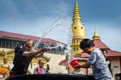 Festival de Songkran Fotografía de archivo