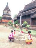 Festival de Songkran en el chiangmai, Tailandia Imagen de archivo