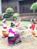 Festival de Songkran en el chiangmai, Tailandia Fotografía de archivo