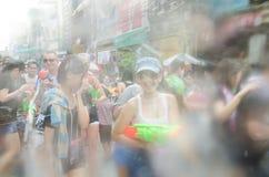 Festival de Songkran en Tailandia Imágenes de archivo libres de regalías