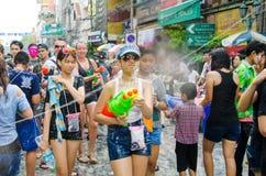 Festival de Songkran en Thaïlande Image stock