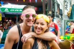 Festival de Songkran en Thaïlande Photo stock