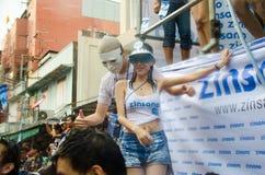 Festival de Songkran en Thaïlande Photographie stock