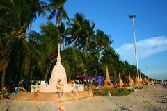 Festival de Songkran le 17 octobre 2009. Photographie stock libre de droits
