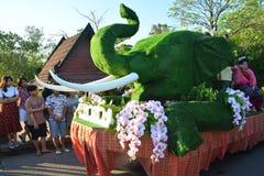 Festival de Songkran no estilo de Tailandês-segunda-feira Foto de Stock