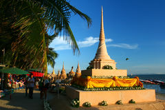 Festival de Songkran outubro em 17, 2009. Fotografia de Stock