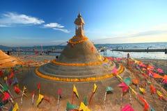 Festival de Songkran outubro em 17, 2009. Imagem de Stock Royalty Free