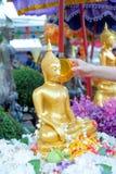 Festival de Songkran, Tailândia Fotografia de Stock