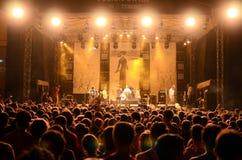 Festival de sortie - Beyrouth images libres de droits