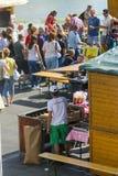 Festival de soupe à poissons dans Szeged Image stock