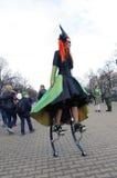 Festival de St Patrick, Moscou Photographie stock libre de droits