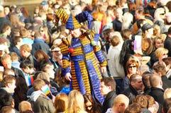 Festival de Sun del ruso de Maslenitsa en Londres Imágenes de archivo libres de regalías