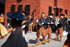 Festival de TAKAYAMA Foto de Stock