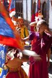 Festival de Tamshing Phala Chhoupa Imagens de Stock Royalty Free