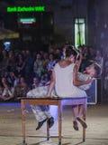 Festival de théâtre de rue à Cracovie Photos stock