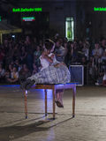 Festival de théâtre de rue à Cracovie Photo libre de droits