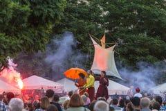 Festival de théâtre de rue Images libres de droits