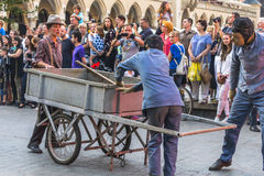 Festival de théâtre de rue Image stock