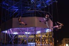 Festival de théâtre de rue à Cracovie 2018 Images stock