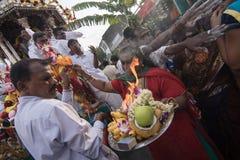 Festival de Thaipusam à Georgetown, Penang, Malaisie Photographie stock libre de droits