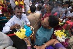 Festival de Thaipusam em Georgetown, Penang, Malásia fotografia de stock