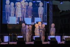 Festival de théâtre de rue à Cracovie Images stock