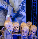 Festival de théâtre de rue à Cracovie Photo stock