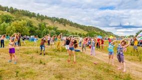 Festival de Todo-Rusia de la canción del ` s del autor nombrada después de Valery Grushin fotos de archivo