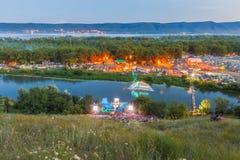 Festival de Todo-Rusia de la canción del ` s del autor nombrada después de Valery Grushin imágenes de archivo libres de regalías