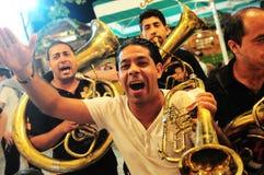 Festival de trompette de Guca image stock