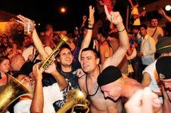 Festival de trompette de Guca photographie stock libre de droits