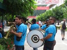 Festival 2018 de trompette de Guca Image libre de droits