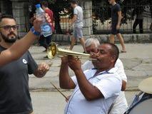 Festival 2018 de trompette de Guca Photo libre de droits