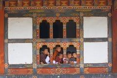 Festival de Tshechu em Wangdue Imagem de Stock Royalty Free
