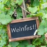 Festival de vino fotos de archivo