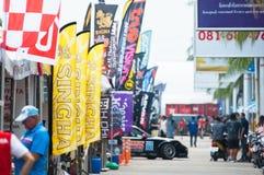 Festival de vitesse de Saen de coup, Thaïlande 2015 Photographie stock