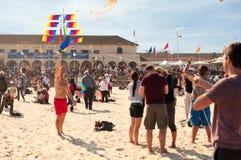 Festival de vol de cerf-volant Photo libre de droits