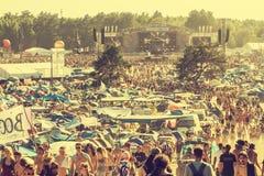 Festival de Woodstock, Pologne Photographie stock libre de droits