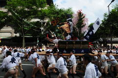 Festival de Yamagasa em Hakata, Kyshu Japão Imagem de Stock