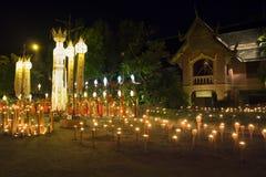 Festival de Yee-Peng dans Chiang Mai Thaïlande Photos stock