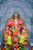 Festival decoration of an Indian deity Royalty Free Stock Images