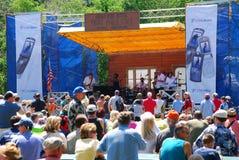 Festival degli azzurri del Chicago Fotografie Stock